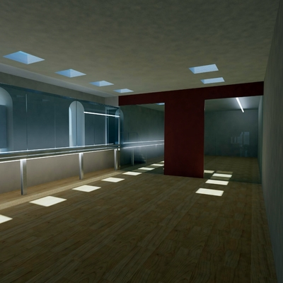 Progetto ristrutturazione palestra New Universal Center II