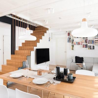Un concentrato di stile in un appartamento di Praga