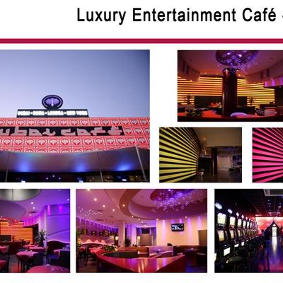 Luxury entertainment cafè