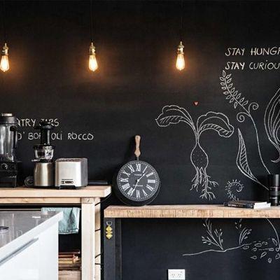 La vernice lavagna per cucina: crea il tuo spazio per idee e ricette