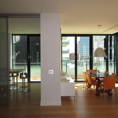 Progetto di interni nelle torri di Porta Nuova