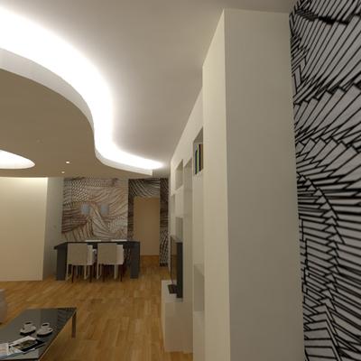 Ristrutturazione d'interni di un appartamento al Torrino