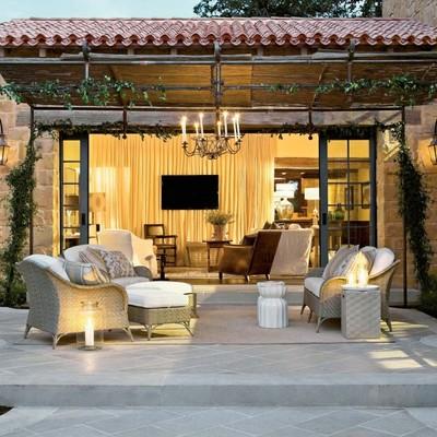 Idee e Foto di Terrazzo e Giardino In Stile Rustico Per Ispirarti ...