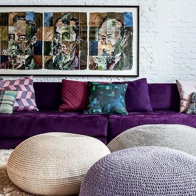 Rifoderare divani idee consigli e caratteristiche for Divano viola