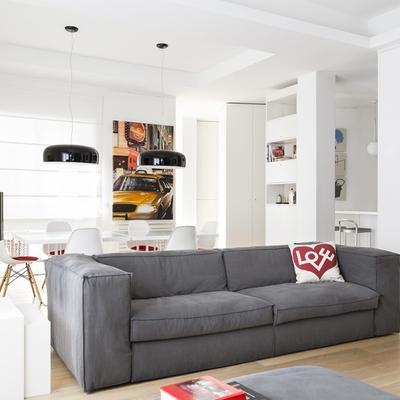 Idee e foto di controsoffitti in cartongesso per ispirarti habitissimo - Open space cucina salotto ...