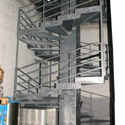 progetto Scala interna locale industriale