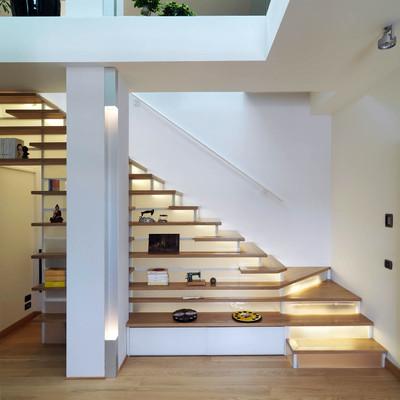Idee e foto di scale per ispirarti habitissimo - Scale per appartamenti ...