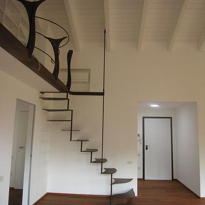 Progetto scale realizzate in ristrutturazioni di abitazioni