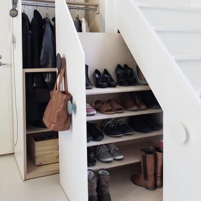 7 idee geniali per tenere in ordine le scarpe