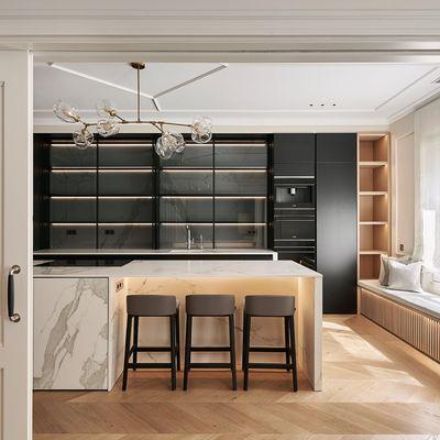 Cucina e soggiorno: come dividerli nello stesso spazio