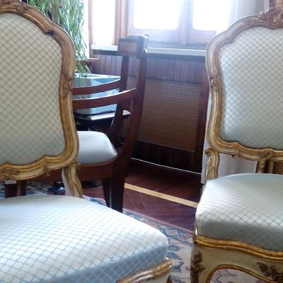 Ripristino di sedie sec. XVIII