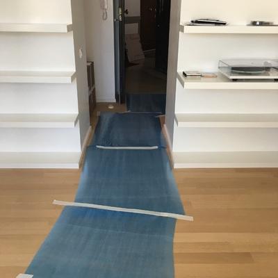 Come protegiamo il pavimento durante un trasloco