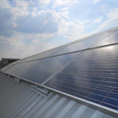 Progetto impianto Fotovoltaico 19,6 KWp su capannone produttivo a Prato (PO)