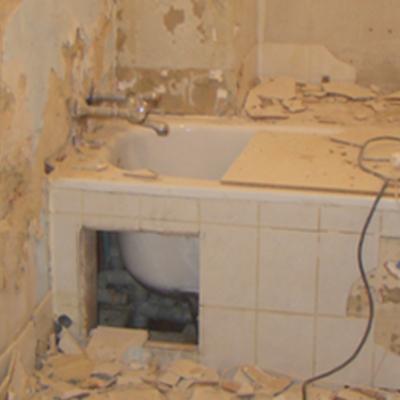 Rinnovare completamente un bagno ispirandosi al mosaico romano