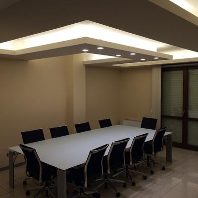 Progetto realizzazione Soffitto illuminante