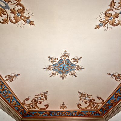Progetto Ripristino pittorico ed integrazione di decorazioni su intonaco