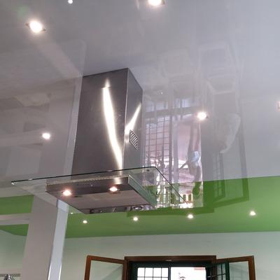 Soffitto teso in PVC