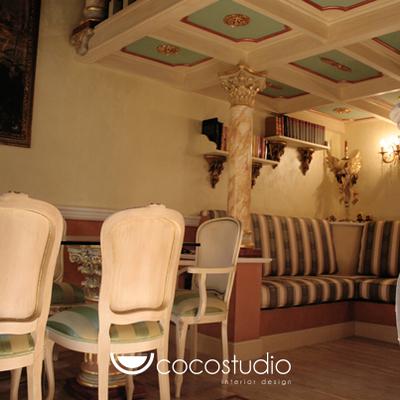 Ristrutturazione completa di un appartamento - Stile Barocco