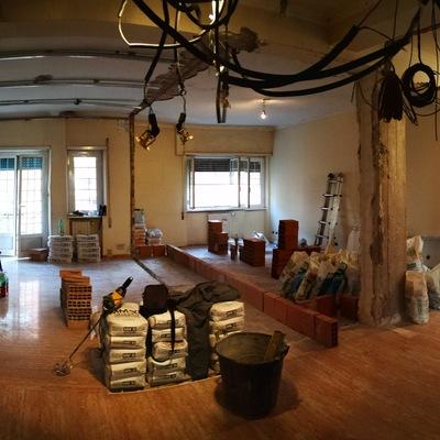 Frazionamento/5 casa privati roma-Work in progress