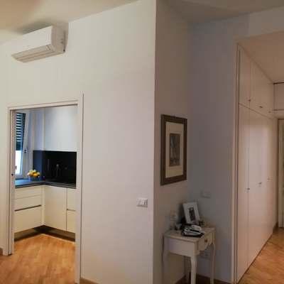Un appartamento romano che sfrutta bene lo spazio