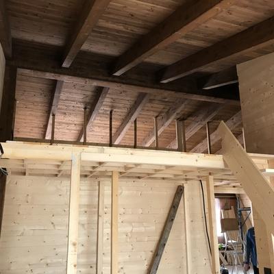 Recupero riuso di un sottotetto di grandi dimensioni e conversione in n.2 appartamenti per civile abitazione