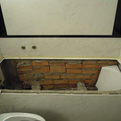 Idee di bagni in stile classico per ispirarti pagina 4 - Sovrapposizione piastrelle bagno ...