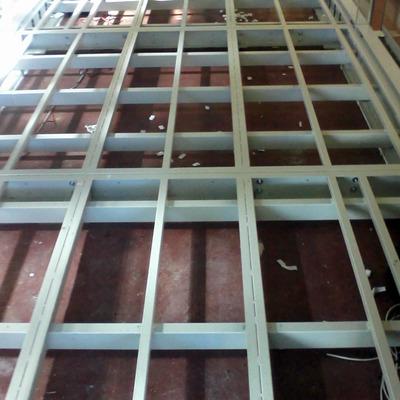 sottostruttura in alluminio