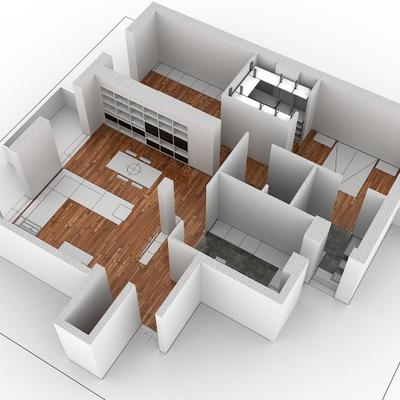 Ristrutturazione appartamento privato zona Prati Roma