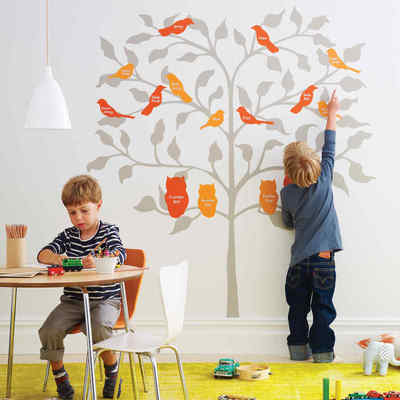 Cameretta dei bimbi: decoriamola con gli stencil