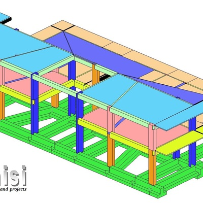house structural modeling