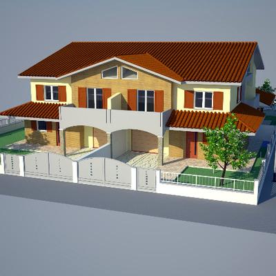 Progetto Costruzione Complesso residenziale