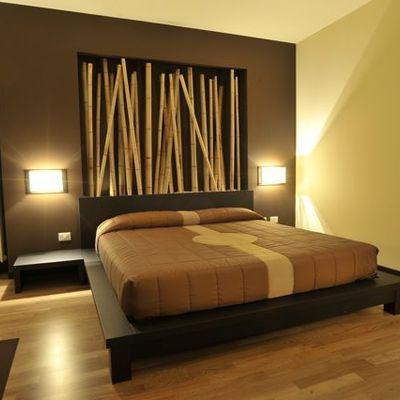 Idee e foto di camere da letto di stile asiatico per - Foto di camere da letto ...