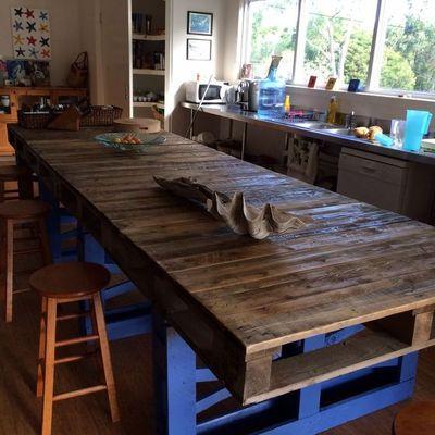 Idee e foto di cucine per ispirarti pagina 4 habitissimo for Tavolo con bancali