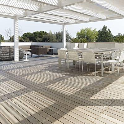 Assemblaggio a secco nella terrazza: ristrutturazioni express per prepararti all'estate