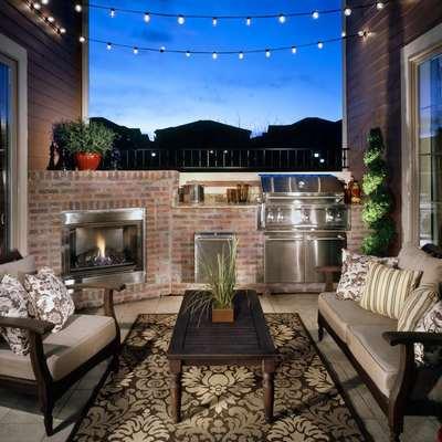Idee e foto di terrazzo e giardino in stile rustico per for Idee per giardino in terrazza