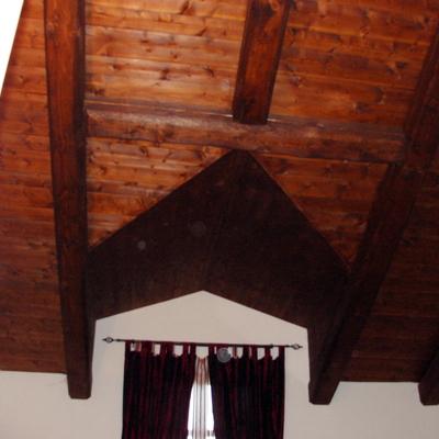 tetto interno a vista