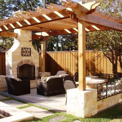 Idee e foto di terrazzo e giardino a varese per ispirarti for Piani di fattoria con veranda
