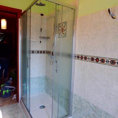 Trasformazione vasca in doccia Nembro (Bg)