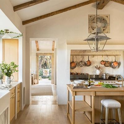 Idee e foto di cucine in stile romantico per ispirarti for Stile romantico arredamento