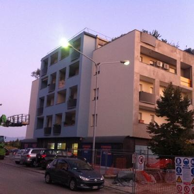 C.E.I. srl Progetto rifacimento facciate - Isolamento termico a cappotto su complesso condominiale in Bastia Umbra (PG)