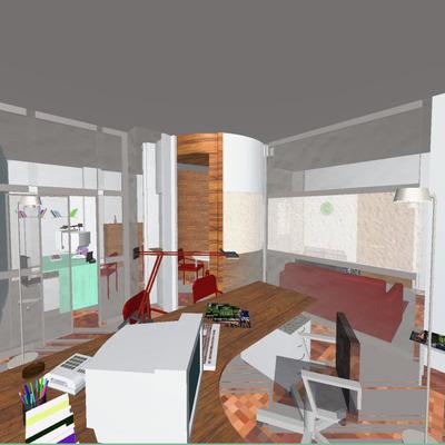 Progetto rendering studio a Napoli (NA)