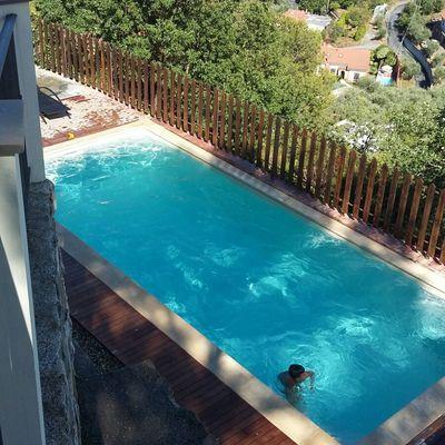 Tre piscine residenziali