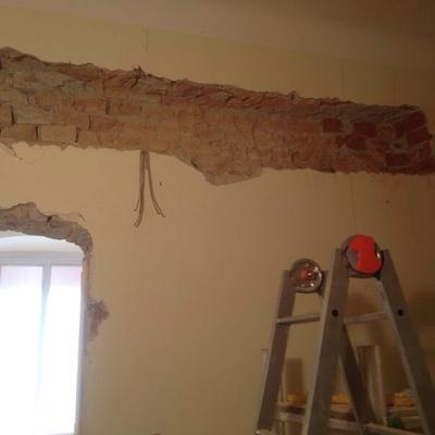 Progetto abbattimento muro portante a Carignano (TO)