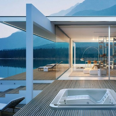 Preventivo costruzione vasca idromassaggio online habitissimo - Vasca da bagno piscina ...