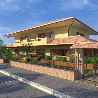 Progetto villa bifamiliare a Roma (RM)