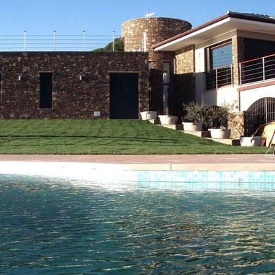 Progeto costruzione Villa con Piscina nel Ponente Genovese