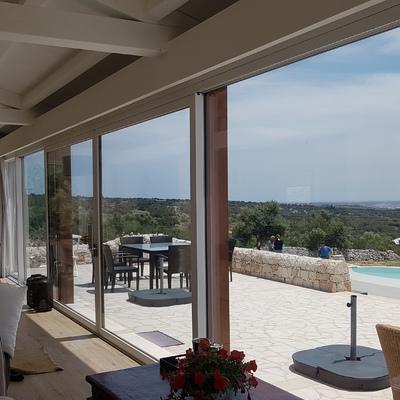 Villa con veranda