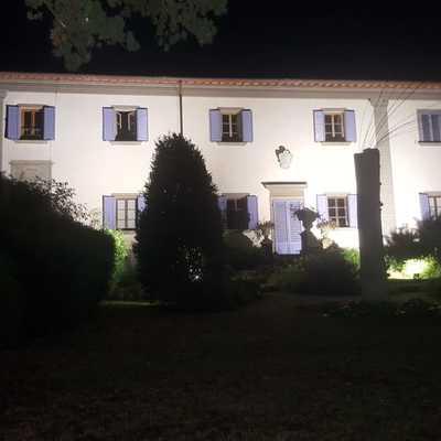 Illuminazione facciata Villa Gaeta