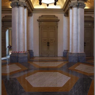 Progetto restauro delle porte e delle sale di rappresentanza della Villa Reale di Monzar