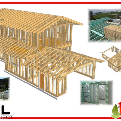 Progetto villa residenziale a Cantu' (CO)